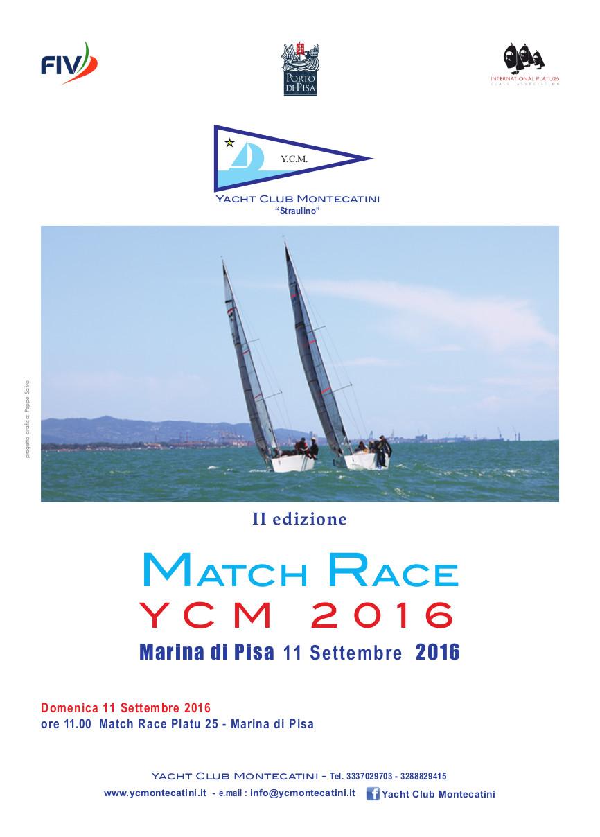 Locandina match race 2016