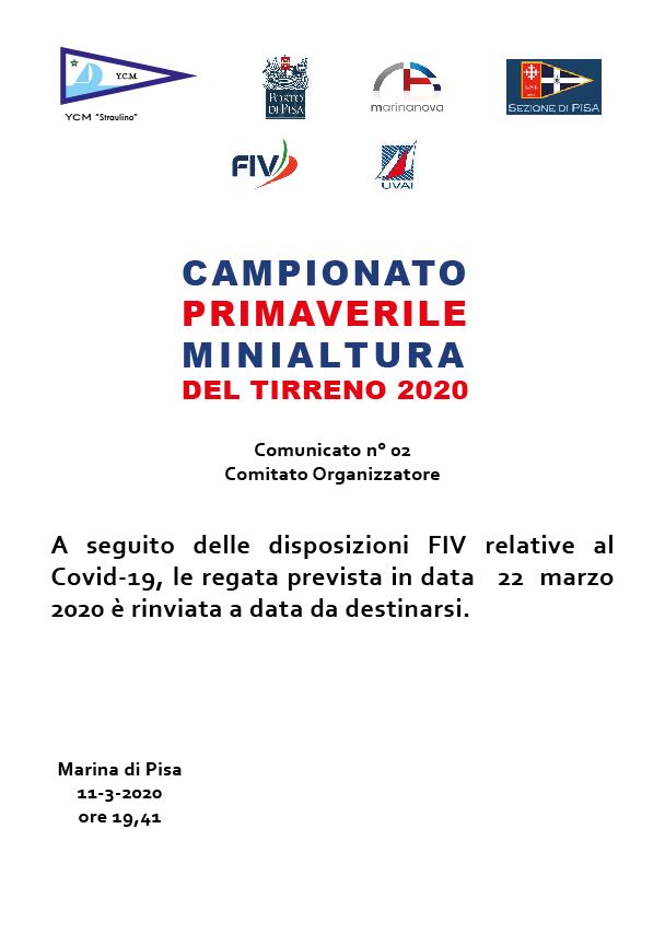 Comunicato n. 2-01